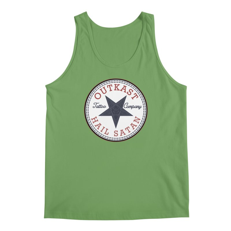 OUTKAST HAIL SATAN ALL STAR Men's Tank by OutkastTattooCompany's Artist Shop