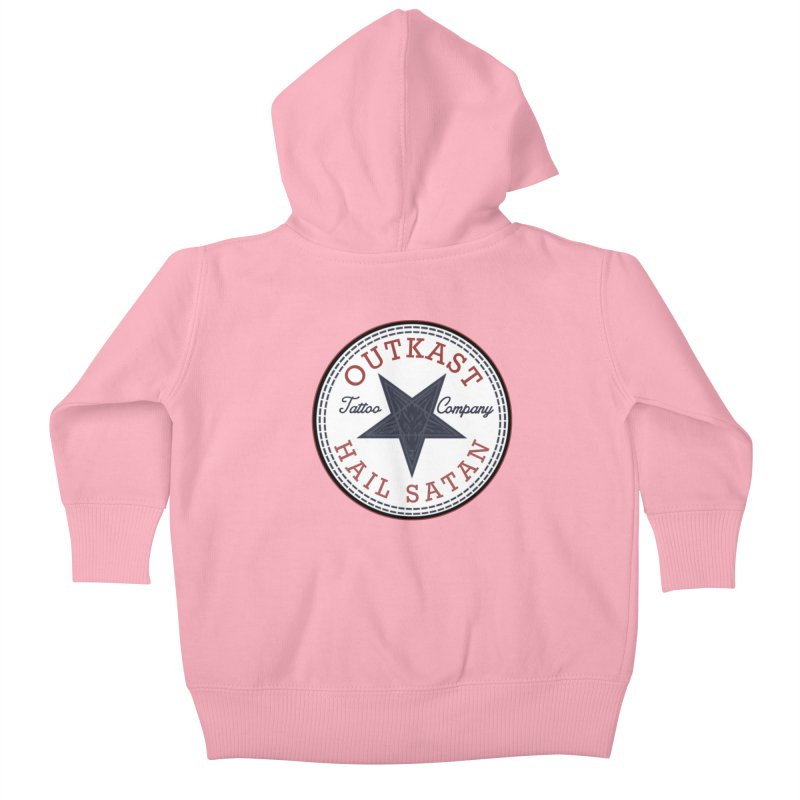 OUTKAST HAIL SATAN ALL STAR Kids Baby Zip-Up Hoody by OutkastTattooCompany's Artist Shop