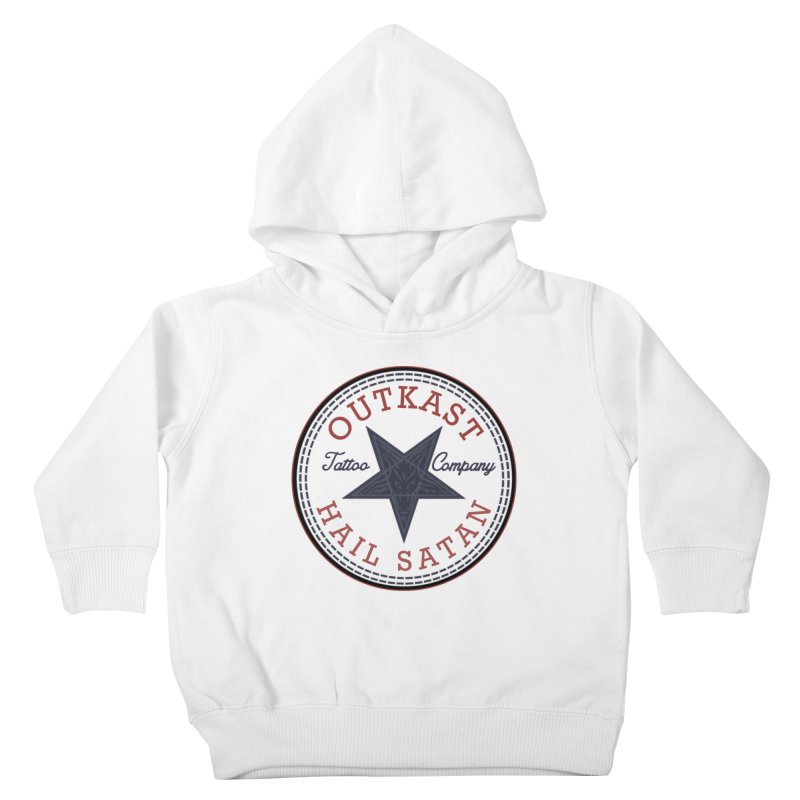 OUTKAST HAIL SATAN ALL STAR Kids Toddler Pullover Hoody by OutkastTattooCompany's Artist Shop