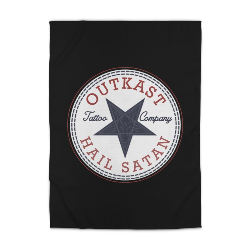 OUTKAST HAIL SATAN ALL STAR Home Rug by OutkastTattooCompany's Artist Shop