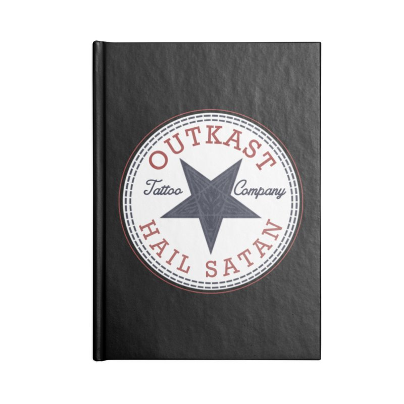 OUTKAST HAIL SATAN ALL STAR Accessories Notebook by OutkastTattooCompany's Artist Shop