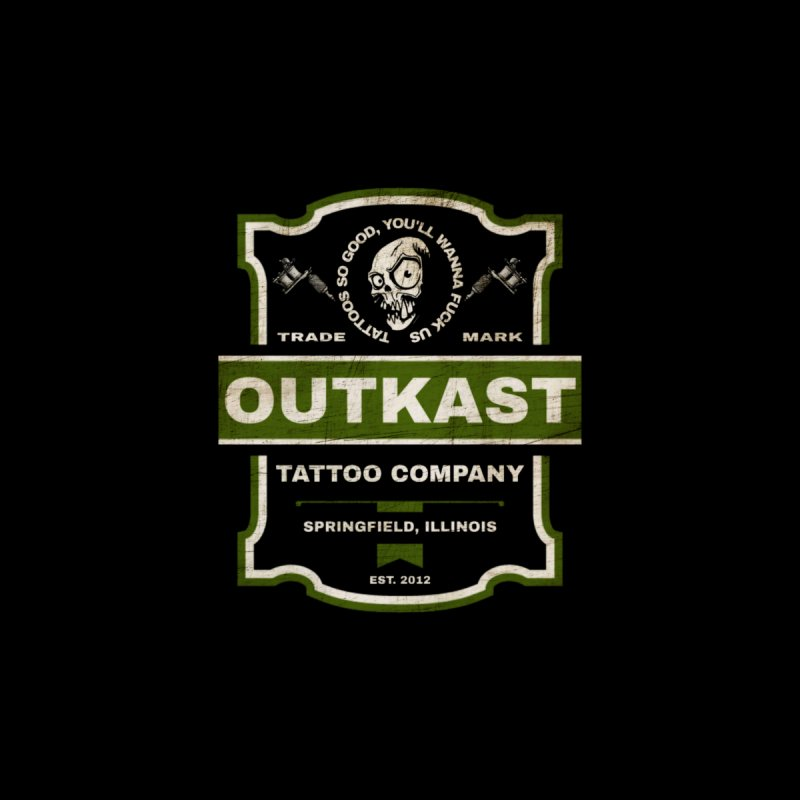 OUTKAST BLACK LABEL TATTOOS Kids Pullover Hoody by OutkastTattooCompany's Artist Shop