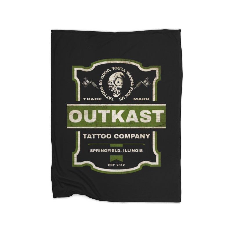 OUTKAST BLACK LABEL TATTOOS Home Blanket by OutkastTattooCompany's Artist Shop