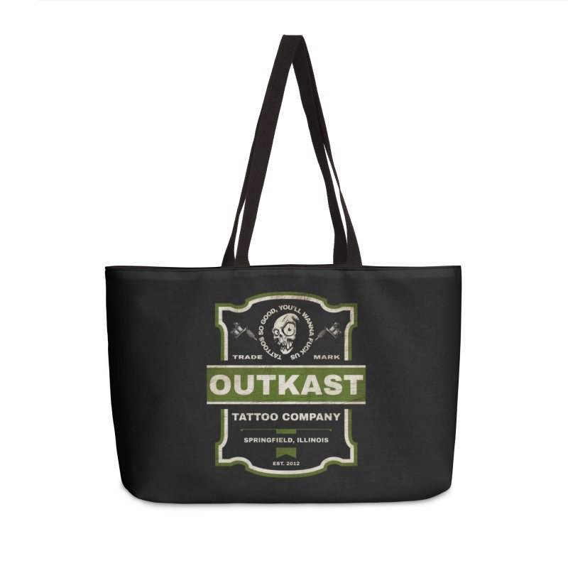 OUTKAST BLACK LABEL TATTOOS Accessories Bag by OutkastTattooCompany's Artist Shop