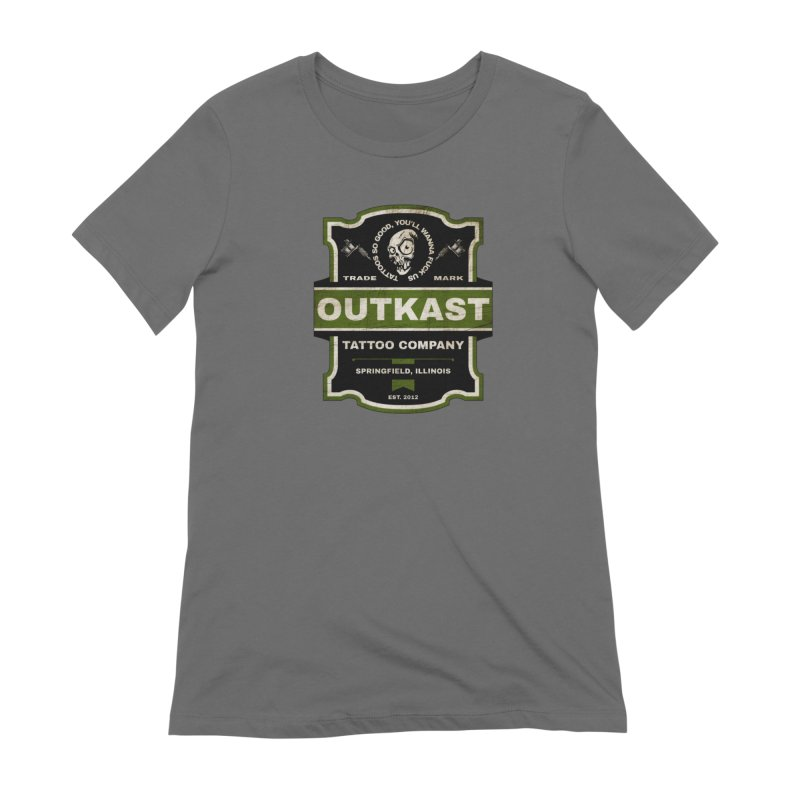 OUTKAST BLACK LABEL TATTOOS Women's T-Shirt by OutkastTattooCompany's Artist Shop