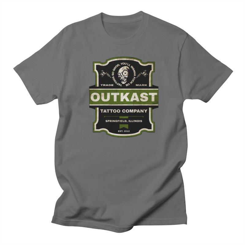 OUTKAST BLACK LABEL TATTOOS Men's T-Shirt by OutkastTattooCompany's Artist Shop