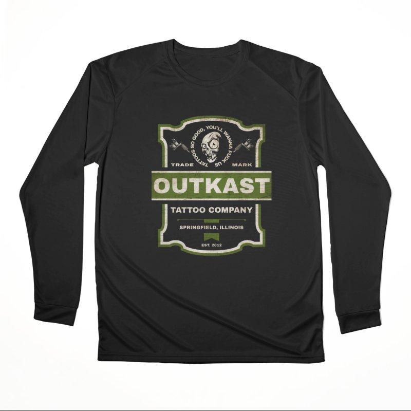 OUTKAST BLACK LABEL TATTOOS Men's Longsleeve T-Shirt by OutkastTattooCompany's Artist Shop