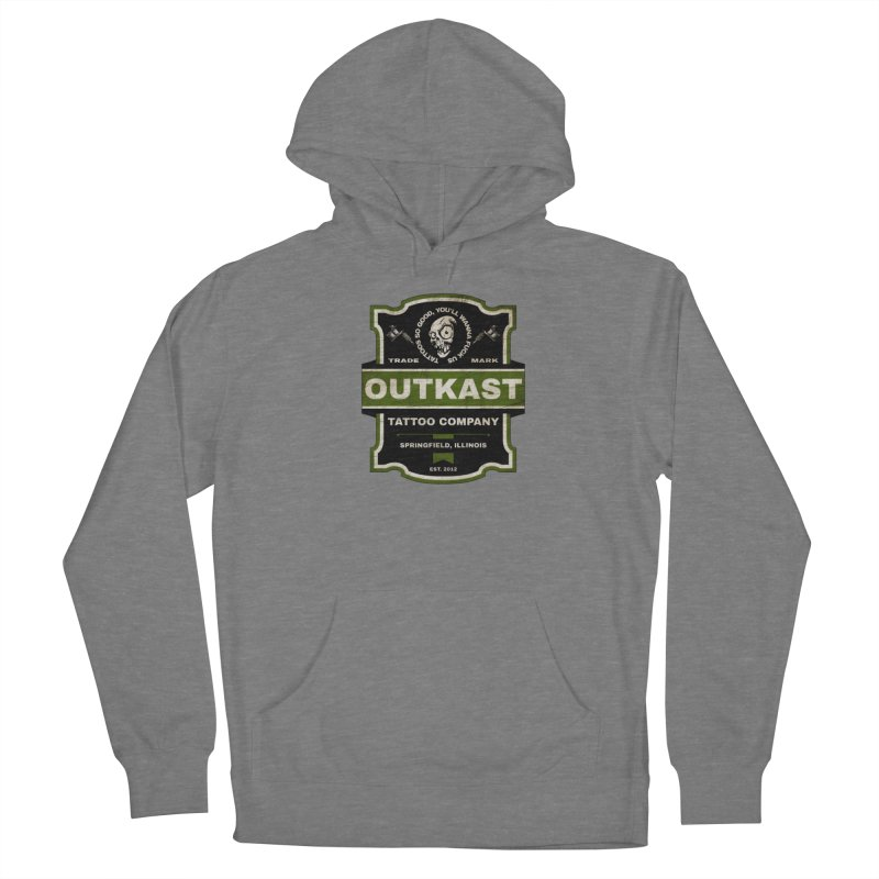 OUTKAST BLACK LABEL TATTOOS Women's Pullover Hoody by OutkastTattooCompany's Artist Shop