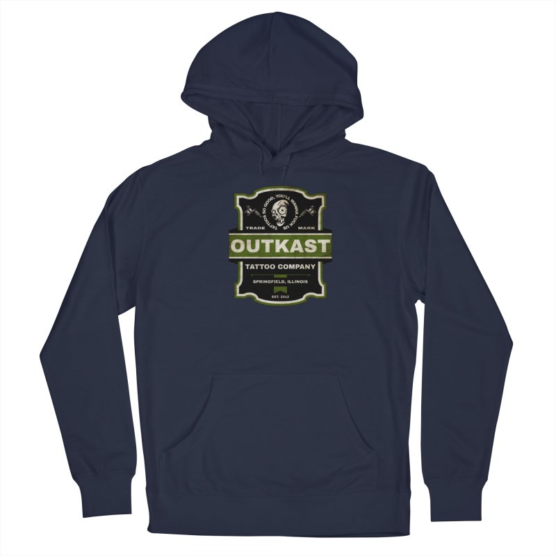OUTKAST BLACK LABEL TATTOOS Men's Pullover Hoody by OutkastTattooCompany's Artist Shop