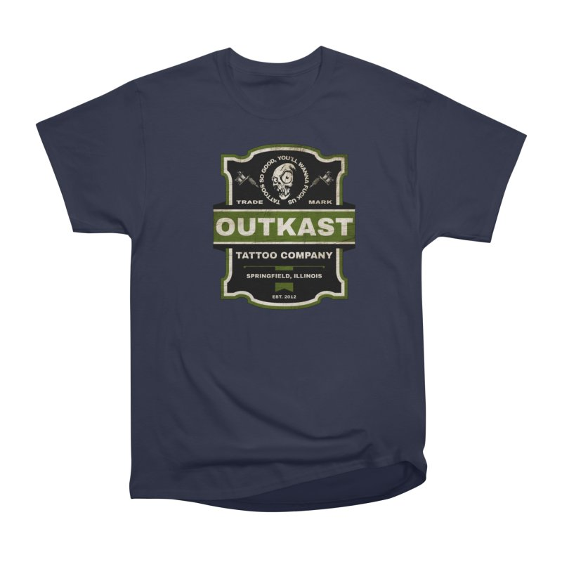 OUTKAST BLACK LABEL TATTOOS Men's T-Shirt by OutkastTattooCompany's Artist Shop