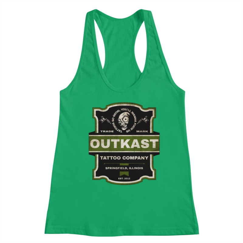 OUTKAST BLACK LABEL TATTOOS Women's Tank by OutkastTattooCompany's Artist Shop