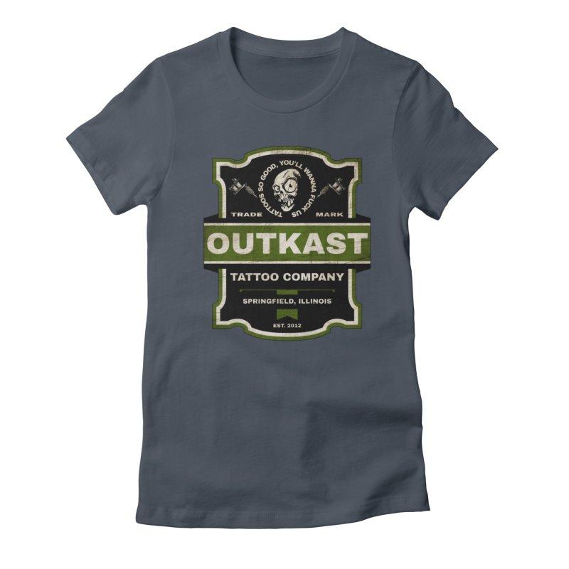 OUTKAST BLACK LABEL TATTOOS Women's T-Shirt by OutkastTattooCompany's Artist Shop