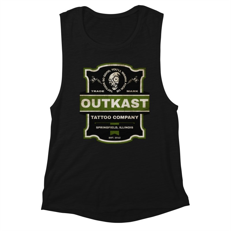 OUTKAST BLACK LABEL TATTOOS Women's Tank by OutkastTattooCompany's Artist Shop