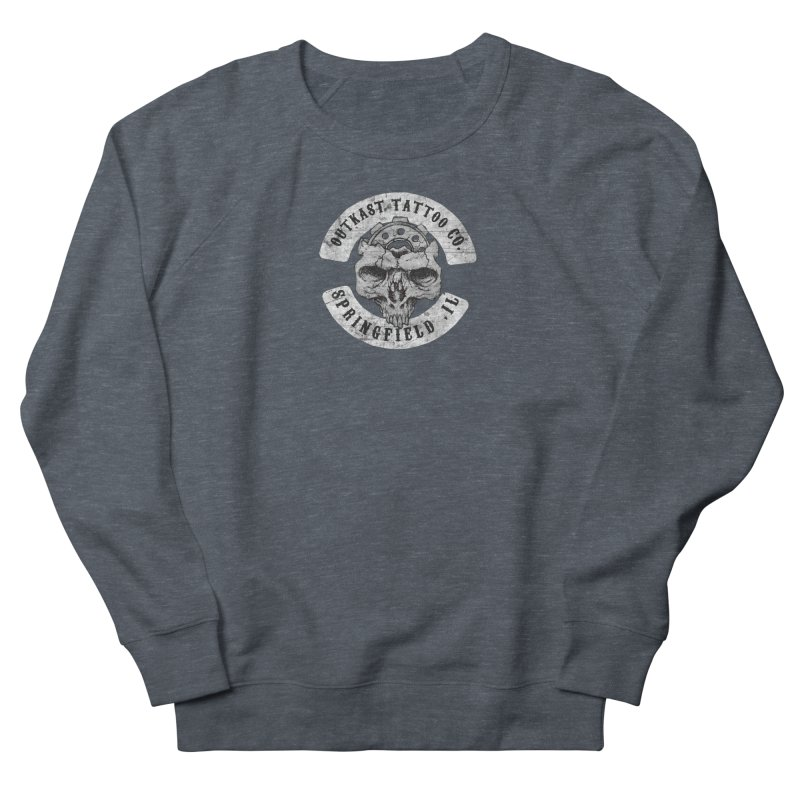 old school skull logo Men's Sweatshirt by OutkastTattooCompany's Artist Shop