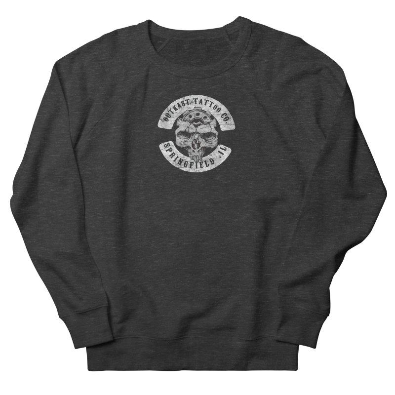 old school skull logo Men's Sweatshirt by OutkastTattooCompany's Artist Shop