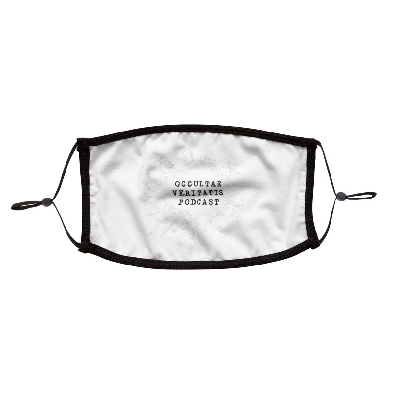 Logo Inverted Accessories Face Mask by Ovpod's Artist Shop