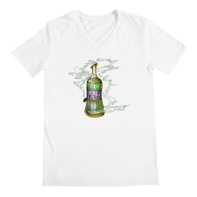 Squishy Poison Bottle Men's V-Neck by Ovpod's Artist Shop