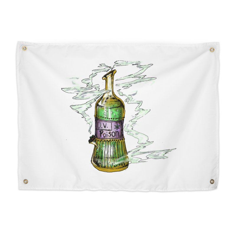 Squishy Poison Bottle Home Tapestry by Ovpod's Artist Shop