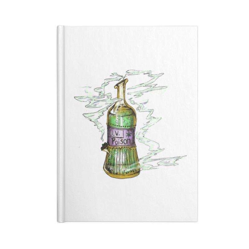 Squishy Poison Bottle Accessories Notebook by Ovpod's Artist Shop