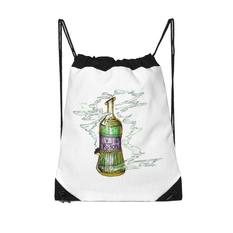 Squishy Poison Bottle Accessories Bag by Ovpod's Artist Shop