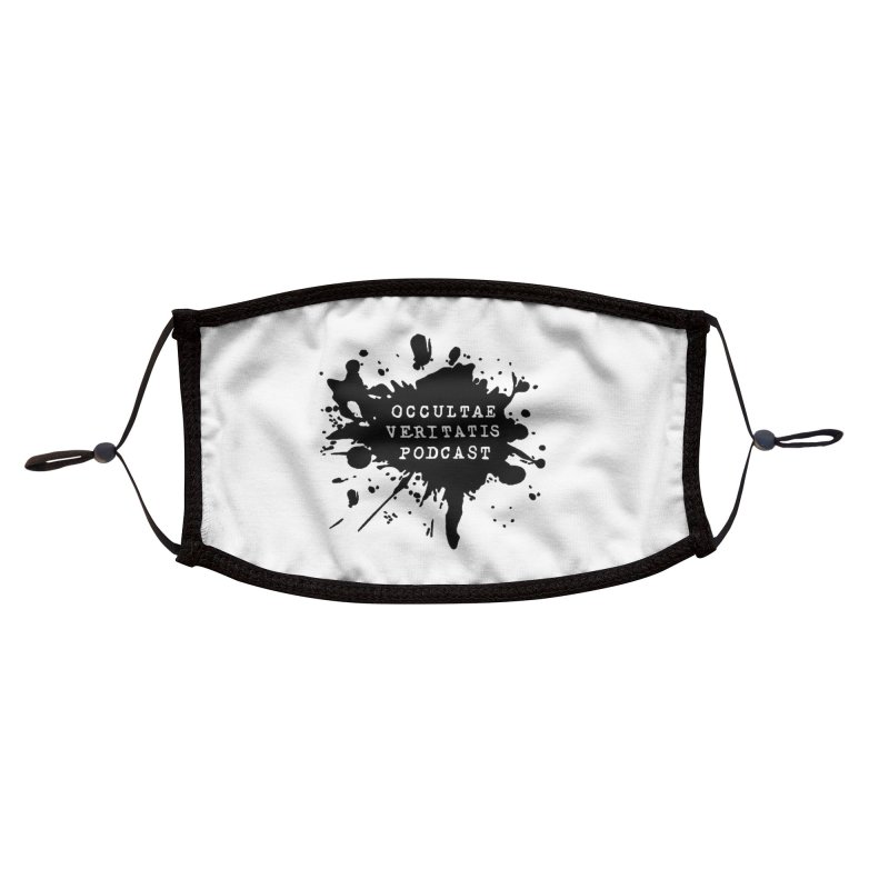 Logo Accessories Face Mask by Ovpod's Artist Shop