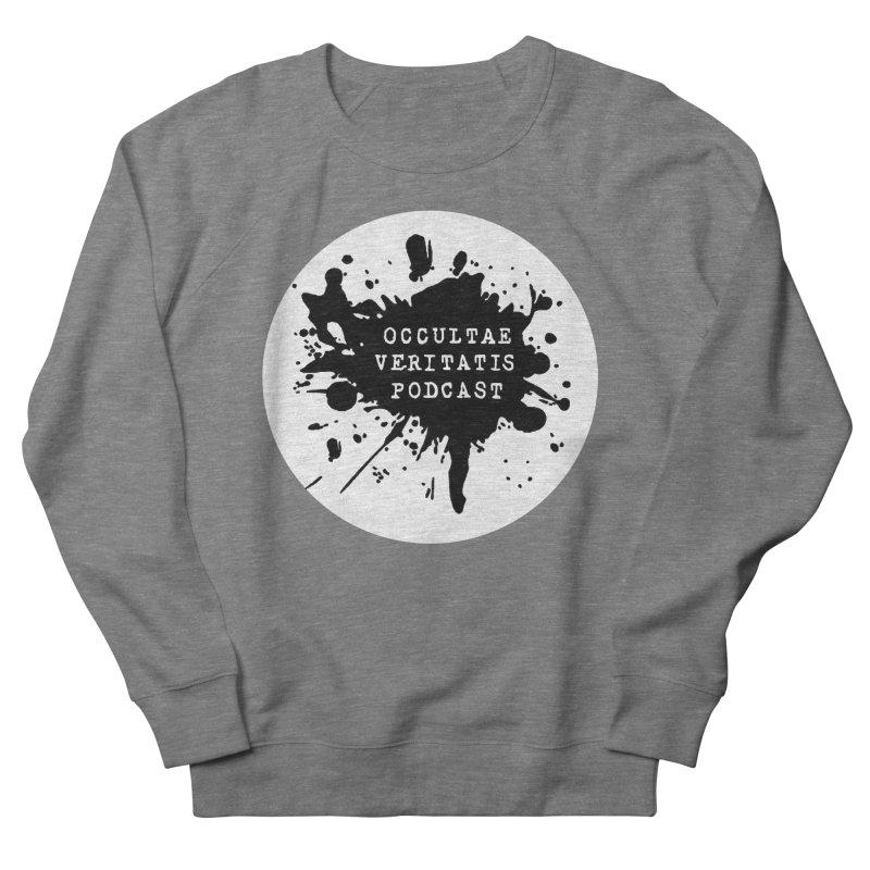 Logo Women's French Terry Sweatshirt by Ovpod's Artist Shop