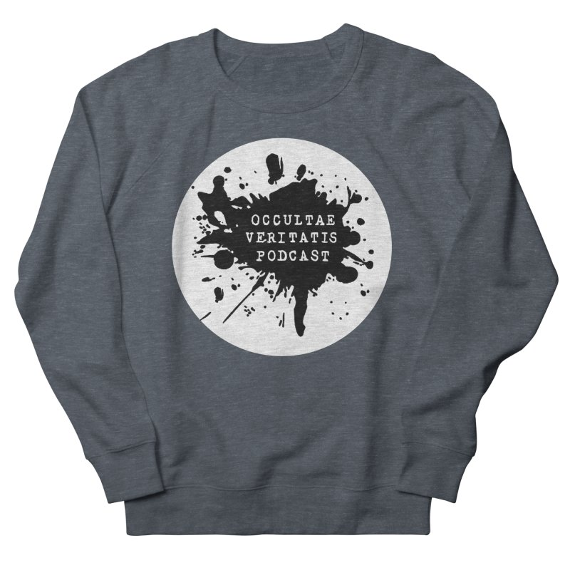 Logo Men's French Terry Sweatshirt by Ovpod's Artist Shop