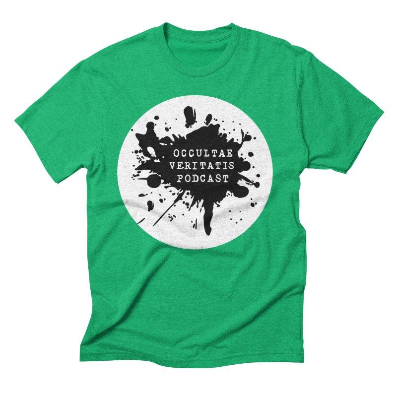 Logo Men's Triblend T-Shirt by Ovpod's Artist Shop