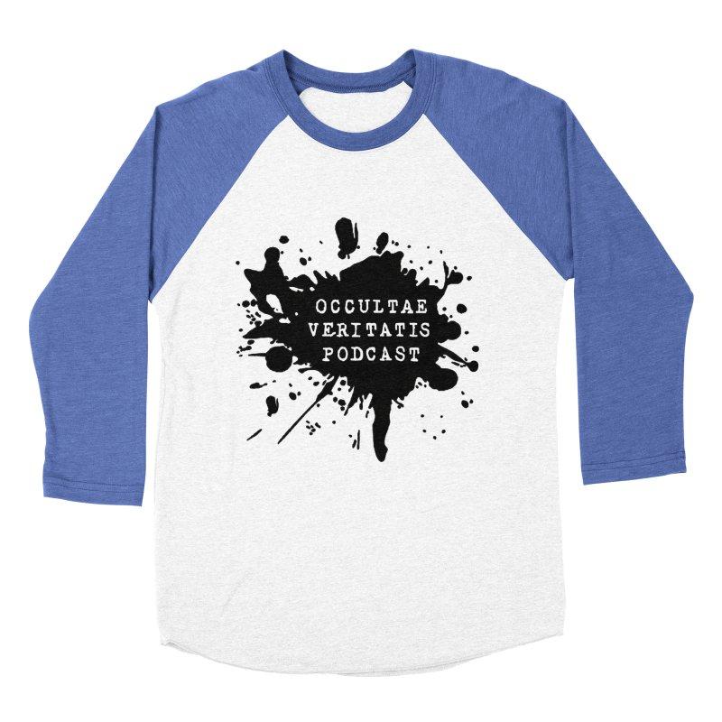 Logo Women's Baseball Triblend Longsleeve T-Shirt by Ovpod's Artist Shop