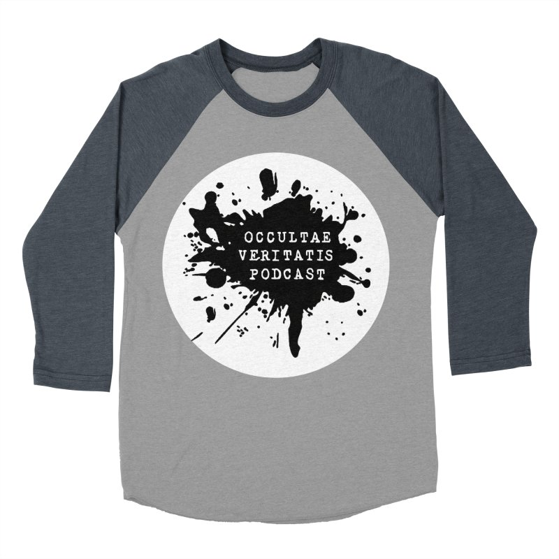 Logo Men's Baseball Triblend Longsleeve T-Shirt by Ovpod's Artist Shop