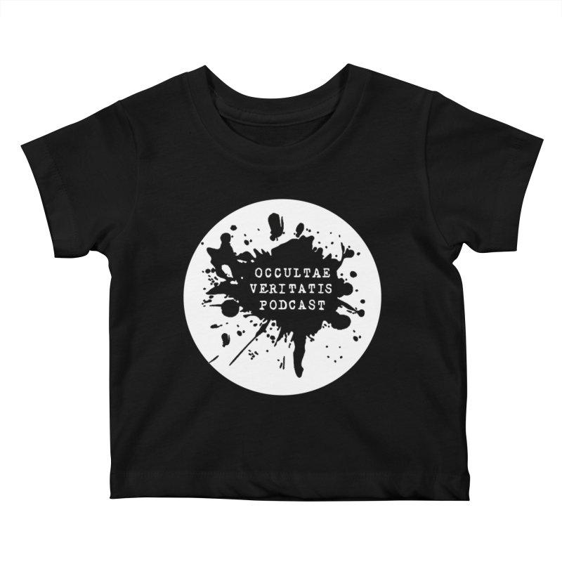 Logo Kids Baby T-Shirt by Ovpod's Artist Shop