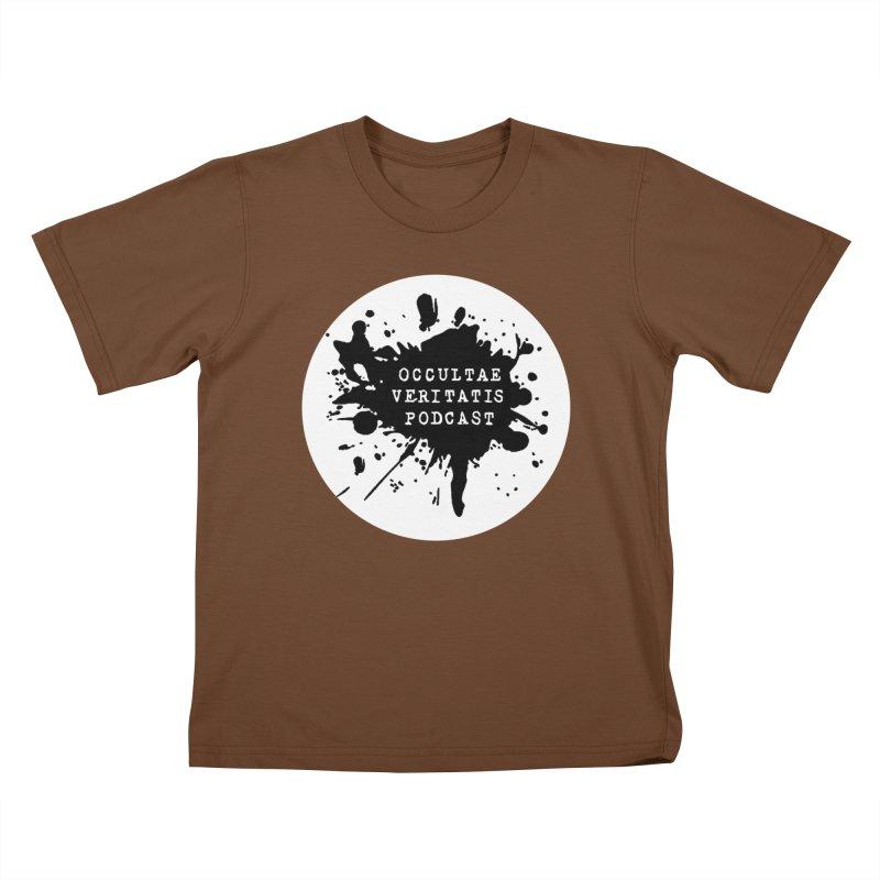 Logo Kids T-Shirt by Ovpod's Artist Shop