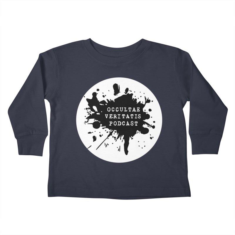 Logo Kids Toddler Longsleeve T-Shirt by Ovpod's Artist Shop
