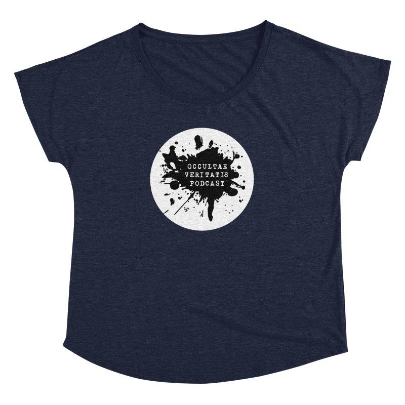 Logo Women's Dolman Scoop Neck by Ovpod's Artist Shop