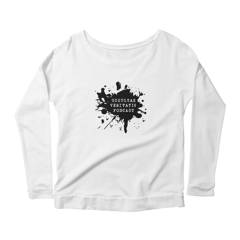 Logo Women's Scoop Neck Longsleeve T-Shirt by Ovpod's Artist Shop
