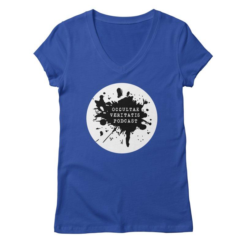 Logo Women's Regular V-Neck by Ovpod's Artist Shop