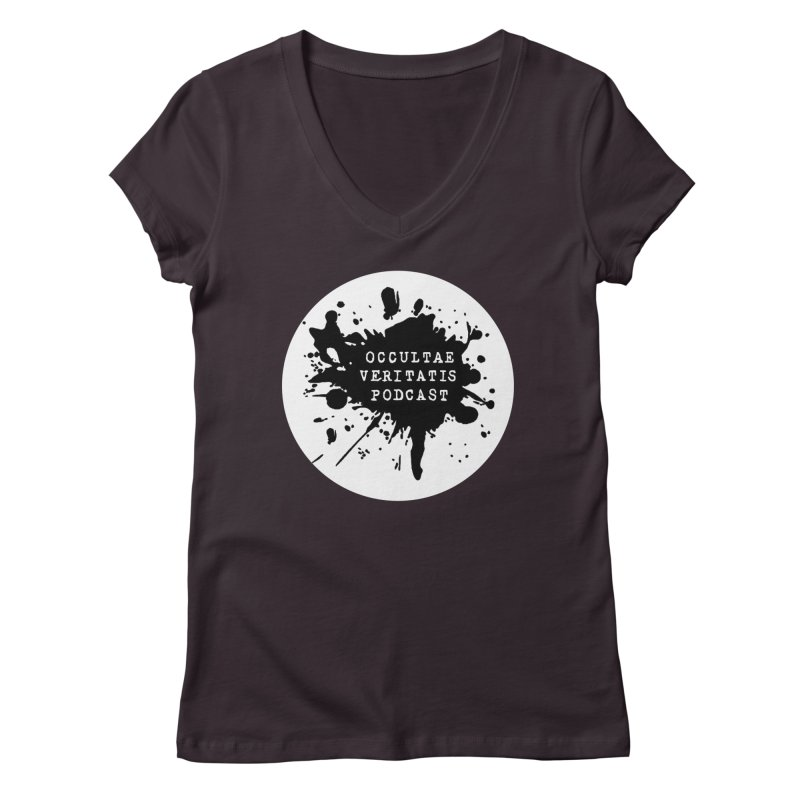 Logo Women's Regular V-Neck by Ovpod's Artist Shop