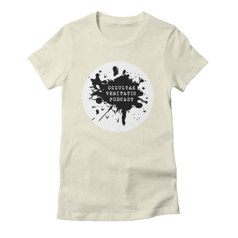 Logo Women's Fitted T-Shirt by Ovpod's Artist Shop