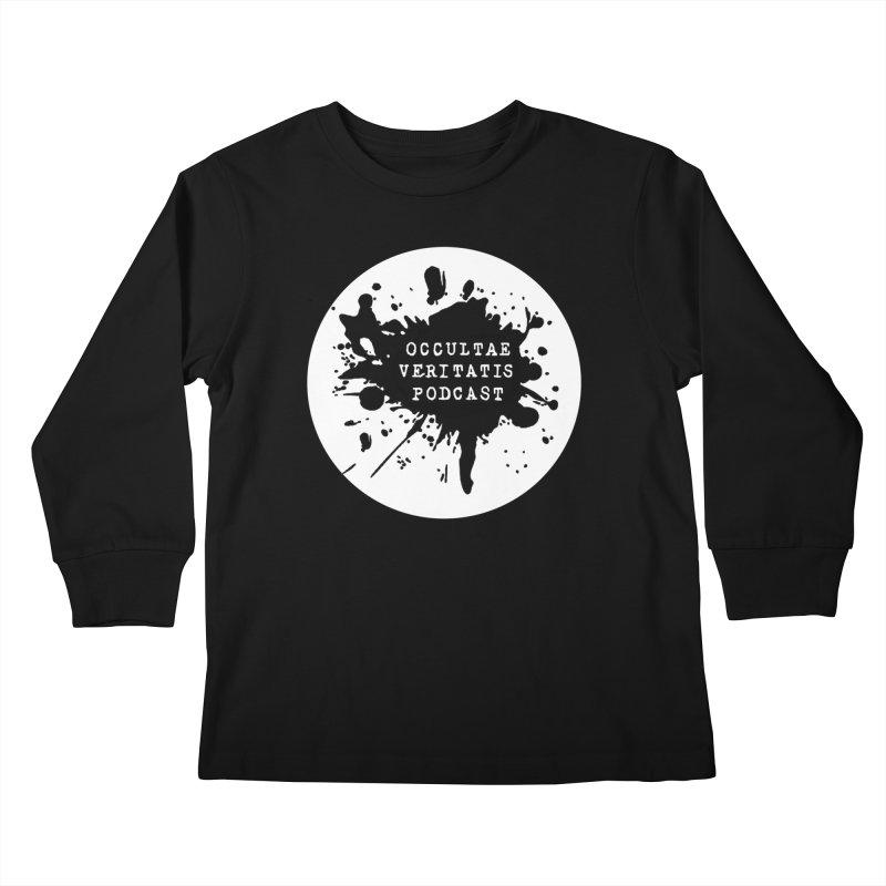Logo Kids Longsleeve T-Shirt by Ovpod's Artist Shop