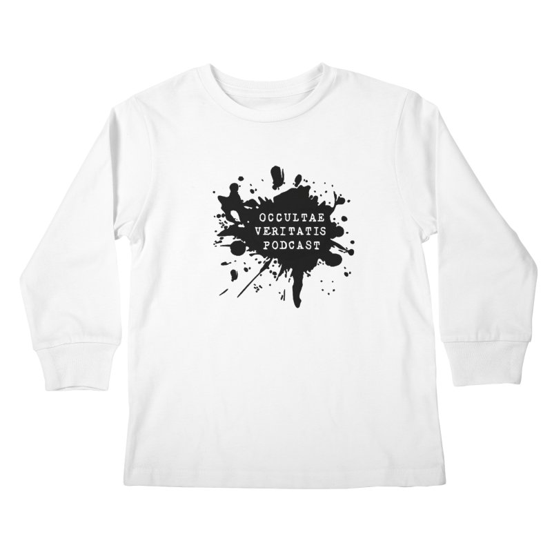 Logo Kids Longsleeve T-Shirt by Ovpod's Artist Shop