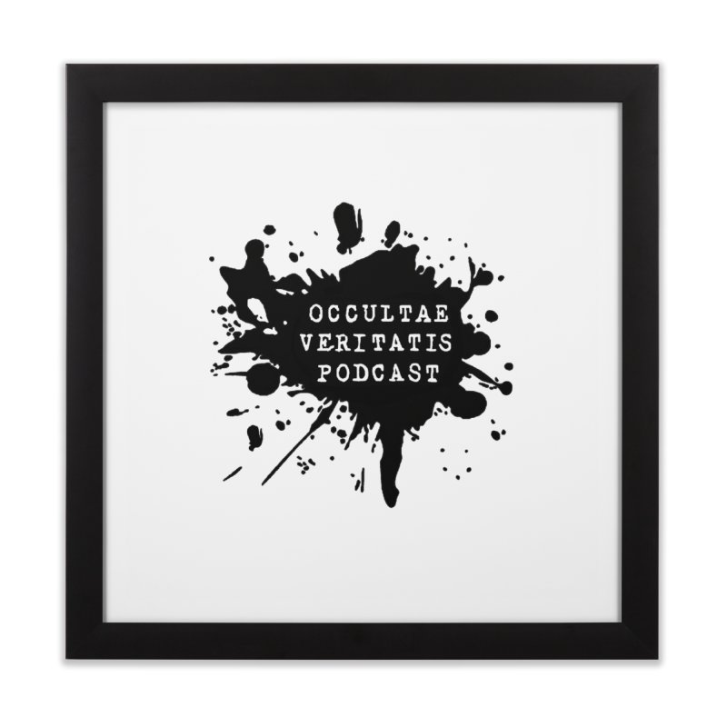 Logo Home Framed Fine Art Print by Ovpod's Artist Shop