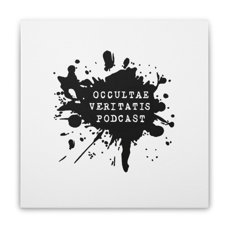 Logo Home Stretched Canvas by Ovpod's Artist Shop