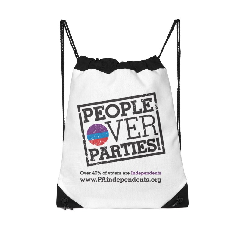People_Over_Parties_v1 Accessories Bag by Independent Pennsylvanian's Shop