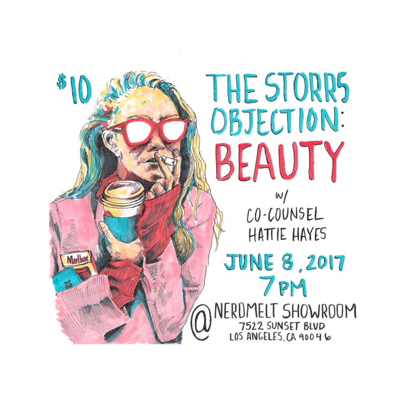 The Storrs Objection: Beauty None  by PEP's Artist Shop