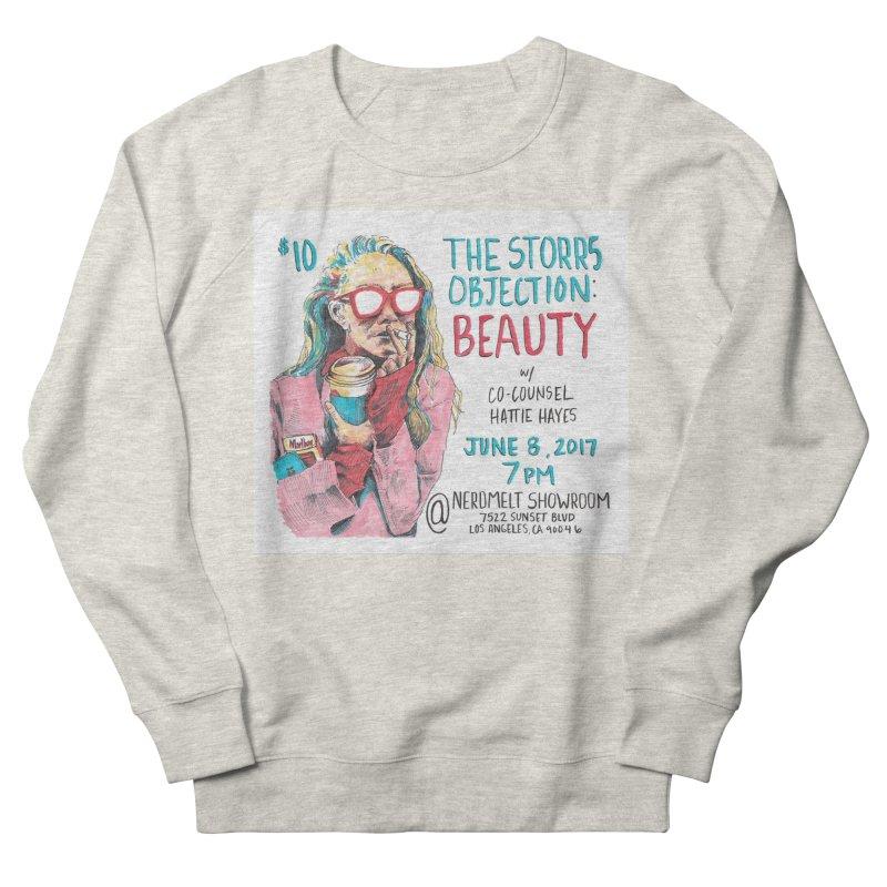 The Storrs Objection: Beauty Men's Sweatshirt by PEP's Artist Shop