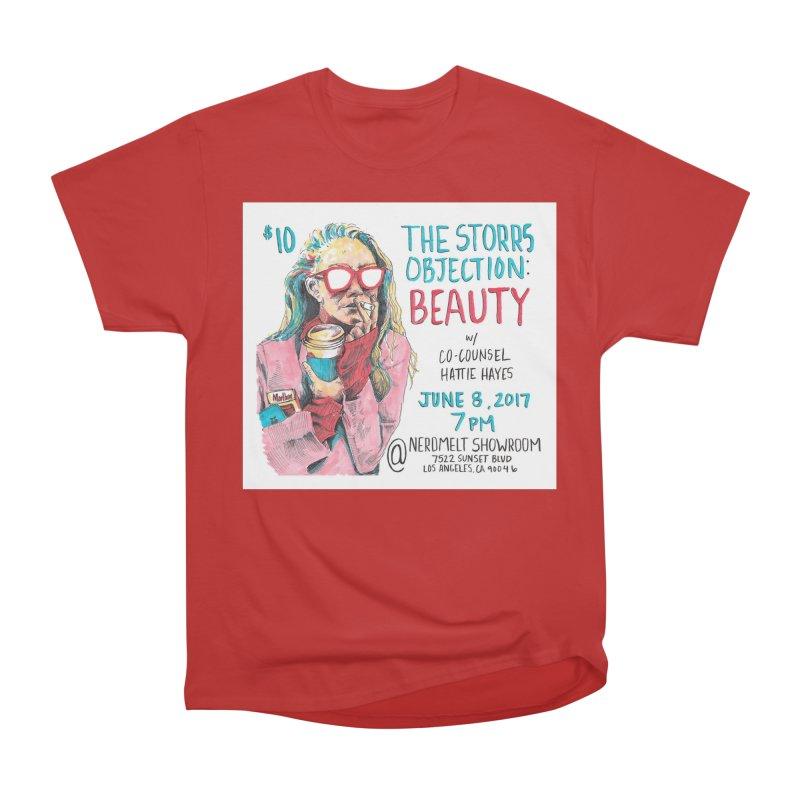 The Storrs Objection: Beauty Women's Heavyweight Unisex T-Shirt by PEP's Artist Shop