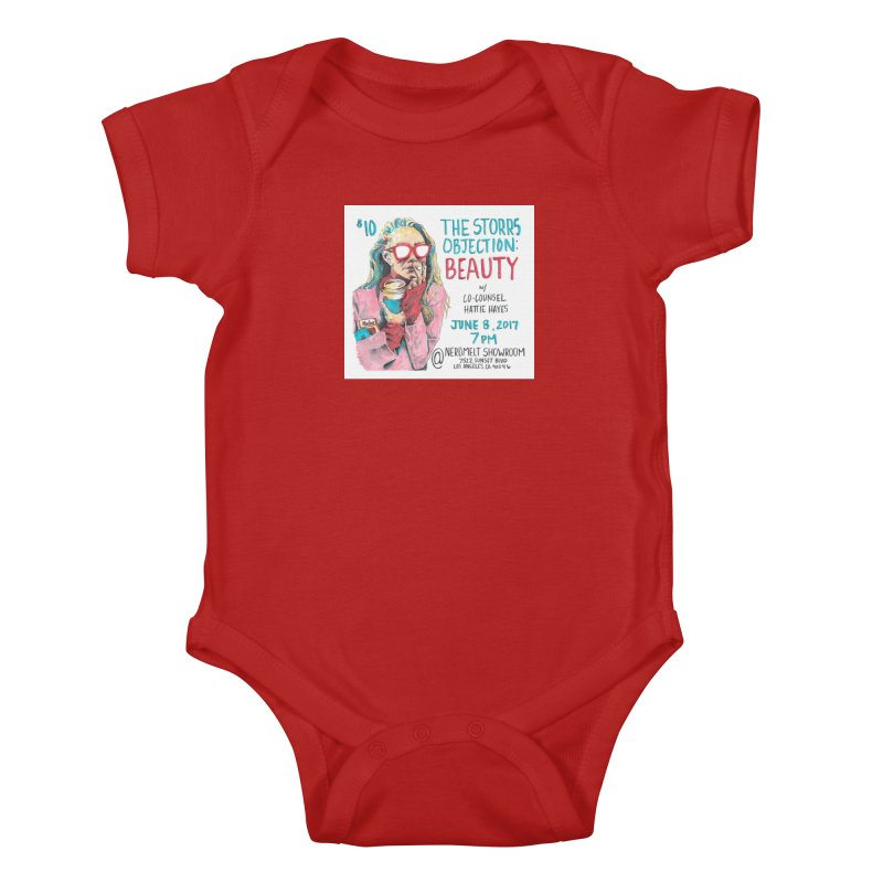The Storrs Objection: Beauty Kids Baby Bodysuit by PEP's Artist Shop