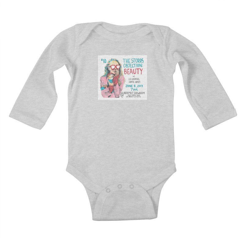 The Storrs Objection: Beauty Kids Baby Longsleeve Bodysuit by PEP's Artist Shop