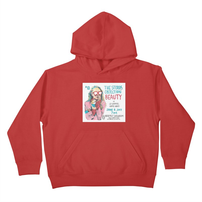The Storrs Objection: Beauty Kids Pullover Hoody by PEP's Artist Shop