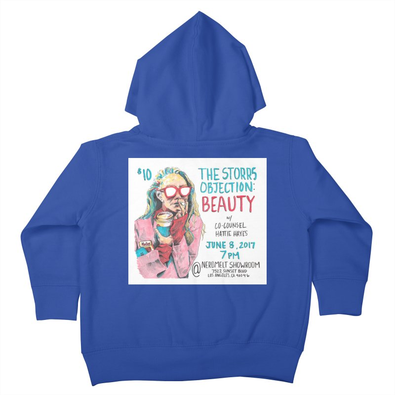 The Storrs Objection: Beauty Kids Toddler Zip-Up Hoody by PEP's Artist Shop